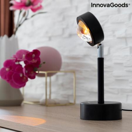 Lampa cu proiectie Apus de soare pornit