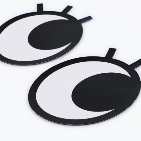 Ochi magnetici cu gene pentru frigider Googly Eyes Lashes 1