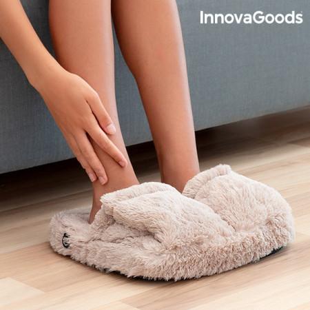 papuci cu masaj bej