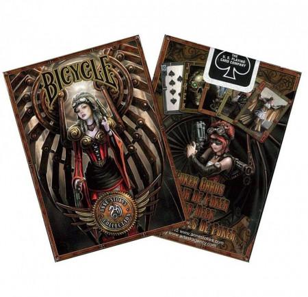 cutie carti de joc Bicycle Anne Stokes Steampunk