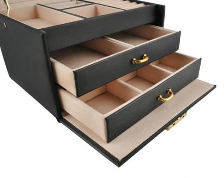 Cutie bijuterii cu doua sertare