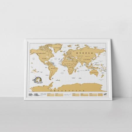 Harta razuibila a lumii Original Luckies