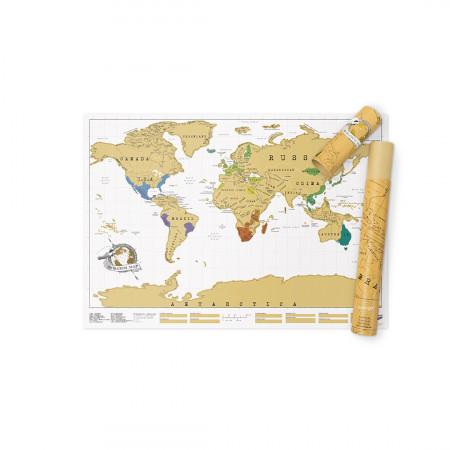 Harta razuibila a lumii Original Luckies 1
