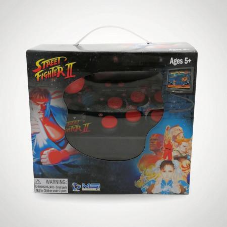 consola joc arcade Street Fighter II pentru televizor in cutie