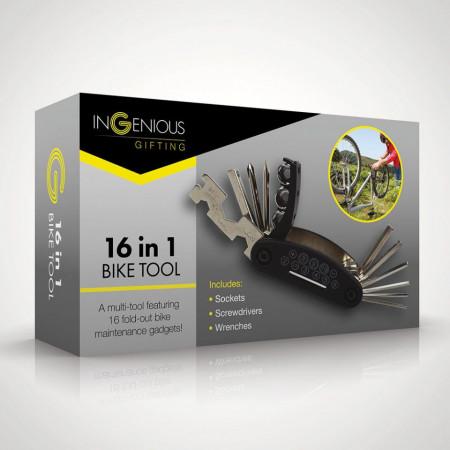 Multitool bicicleta 16 in 1 in cutie