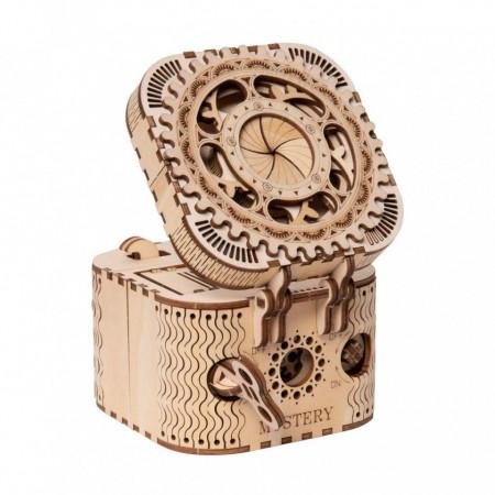 puzzle 3d din lemn cutie comori 1