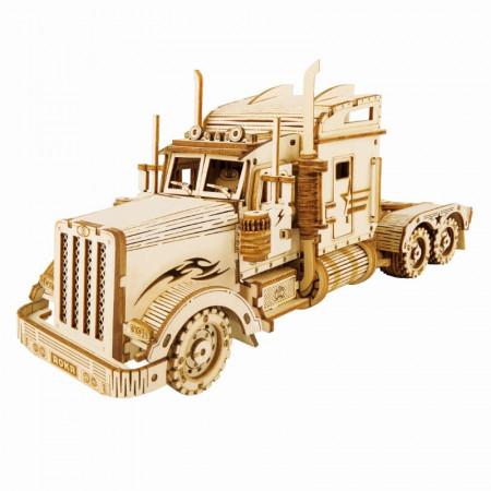 Puzzle 3D lemn Camion