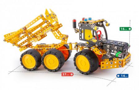 Set constructie Muck 7 in 1 Pro, 733 piese dimensiuni