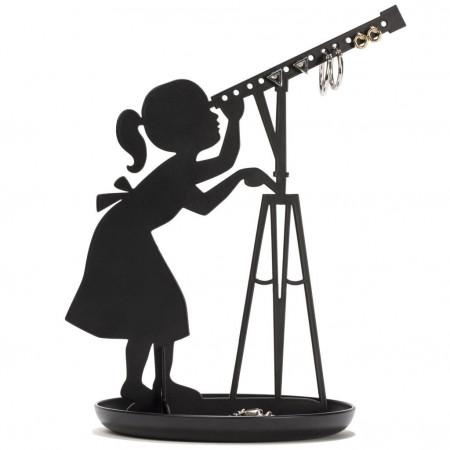Suport bijuterii fetita cu telescop 1