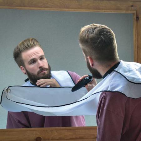 baveta sort pentru barbierit oglinda
