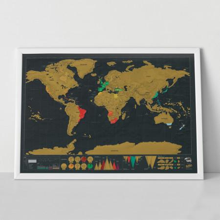 Harta razuibila a lumii Editia Deluxe Luckies