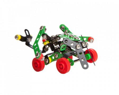 Set constructie Roboti 4 in 1, 151 piese modelul 4