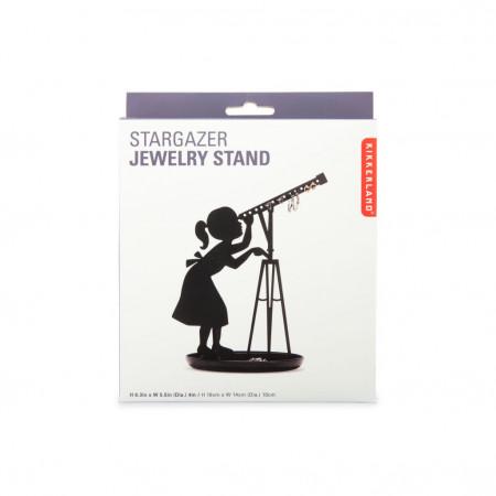 Suport bijuterii fetita cu telescop in cutie