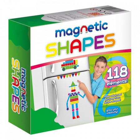 Joc magnetic forme geometrice in cutie
