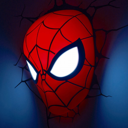 Lampa 3D Philips Spiderman