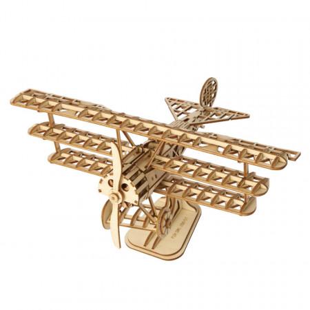 Puzzle 3D din lemn Avion