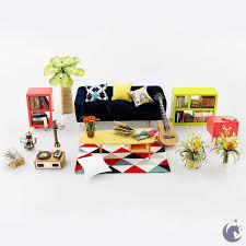 Puzzle 3D lemn Camera de zi obiecte