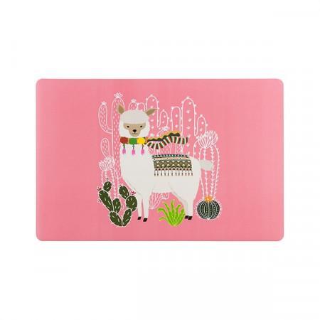 Suport farfurii Lama roz
