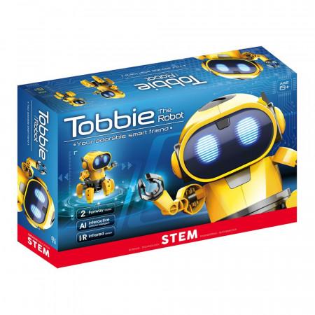 Tobbie prietenul tau robot galben in cutie