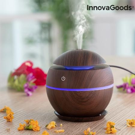 Umidificator si difuzor aromaterapie Dark Walnut