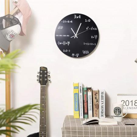 ceas de perete cu formule matematice