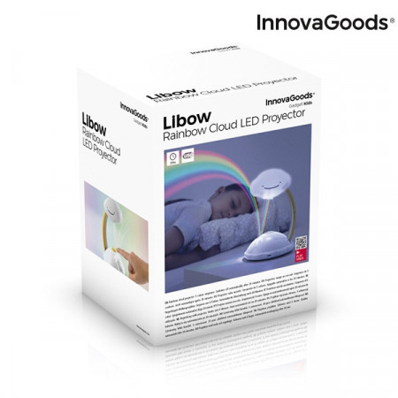 lampa LED curcubeu in cutie
