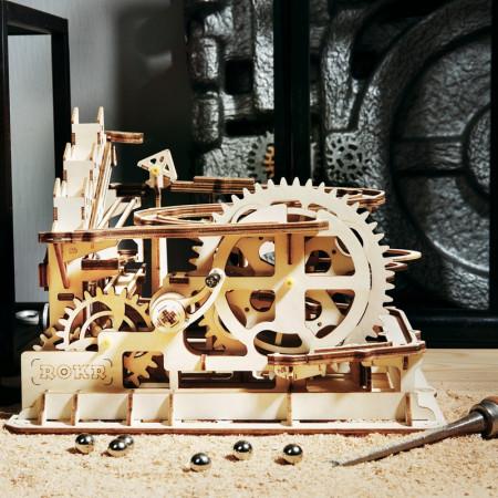 puzzle 3d din lemn marble parkour 1