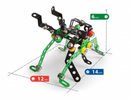 Set constructie Roboti 4 in 1, 151 piese dimensiuni