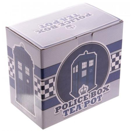 Ceainic Londra sectie de politie in cutie