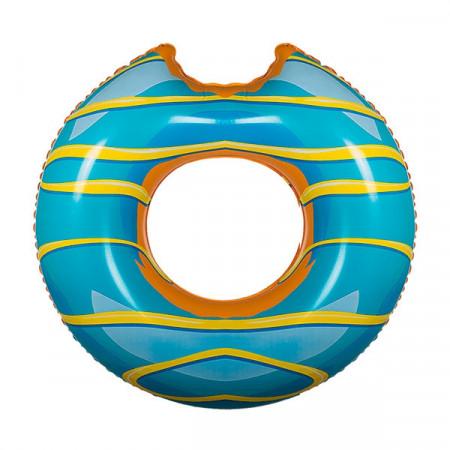 Colac gonflabil gogoasa glazurata bleu