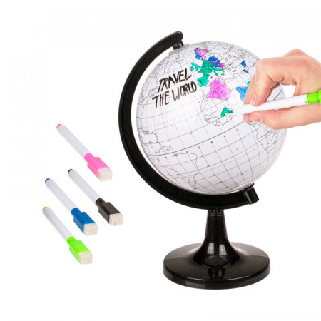 Glob pamantesc de colorat