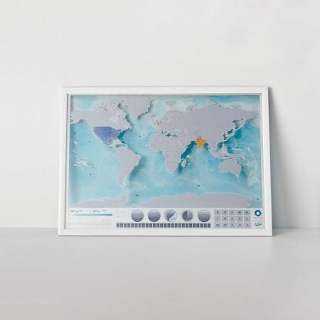 Harta razuibila Editia Oceans Luckies 1