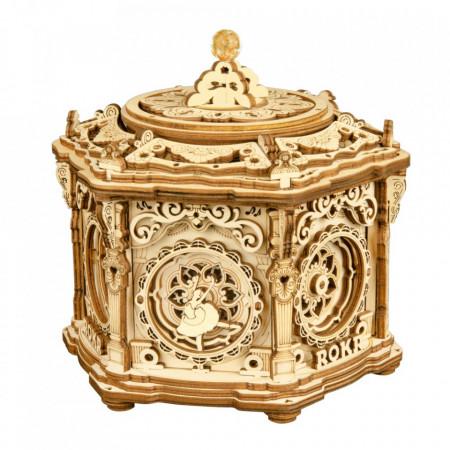 Puzzle 3D lemn Cutie muzicala Gradina secreta