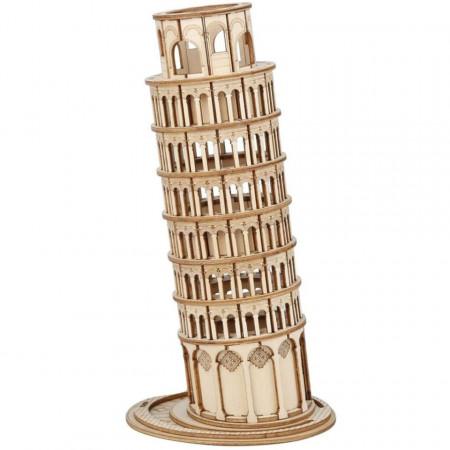 Puzzle 3D lemn Turnul din Pisa