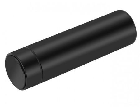 sticla termos neagra cu afisare temperatura LED
