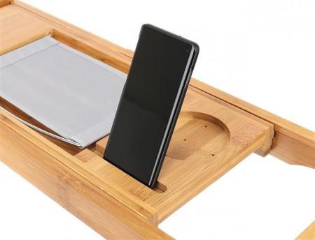 Suport cada extensibil Bamboo Spa telefon