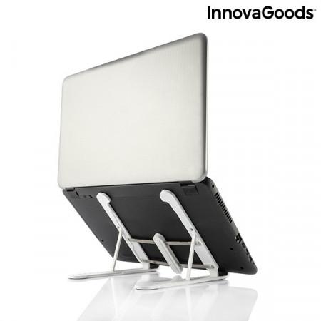 suport reglabil alb pentru laptop