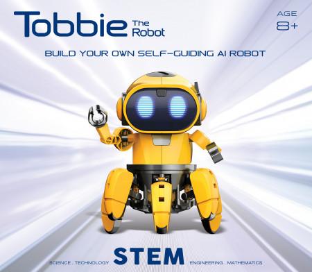 Tobbie prietenul tau robot galben 1