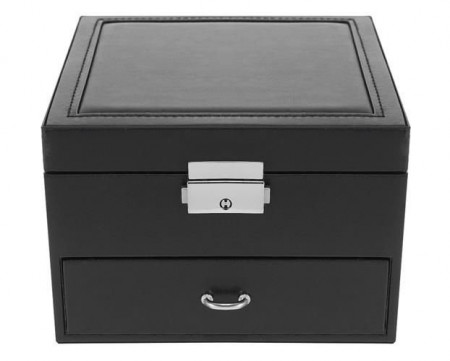 Cutie pentru bijuterii cu sertar si cheita 1