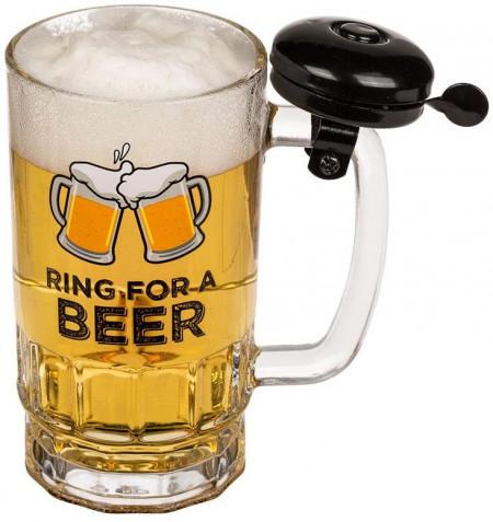Halba de bere cu sonerie