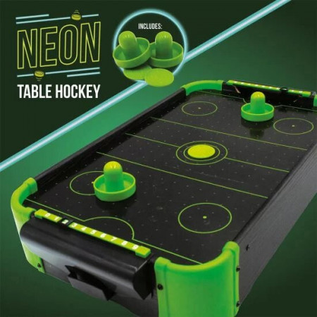 Joc Air Hockey neon verde 4