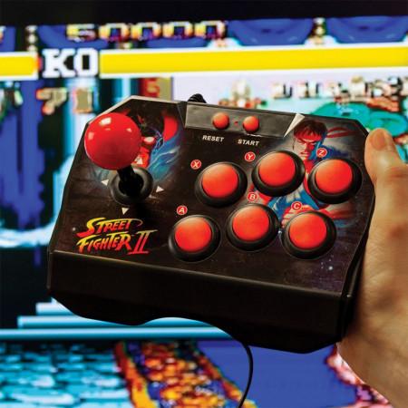 consola joc arcade Street Fighter II pentru televizor