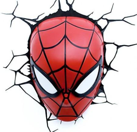 Lampa 3D Philips Spiderman pe perete 3