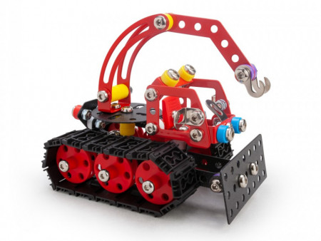 Set constructie Tractor de zapada Nordic, 215 piese