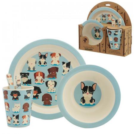 Set de masa pentru copii Catelusi 4