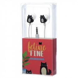 Casti cu pisica neagra in cutie 2