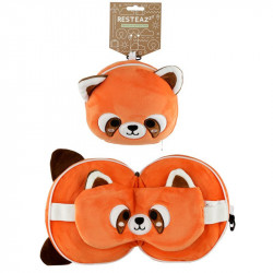 Perna travel panda rosu