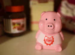 Porcusor roz pentru dieta in bufet