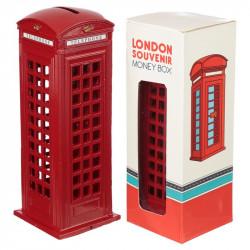Pusculita cabina telefonica rosie Londra si cutiasi cutia