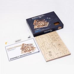 puzzle 3d din lemn marble parkour contiut